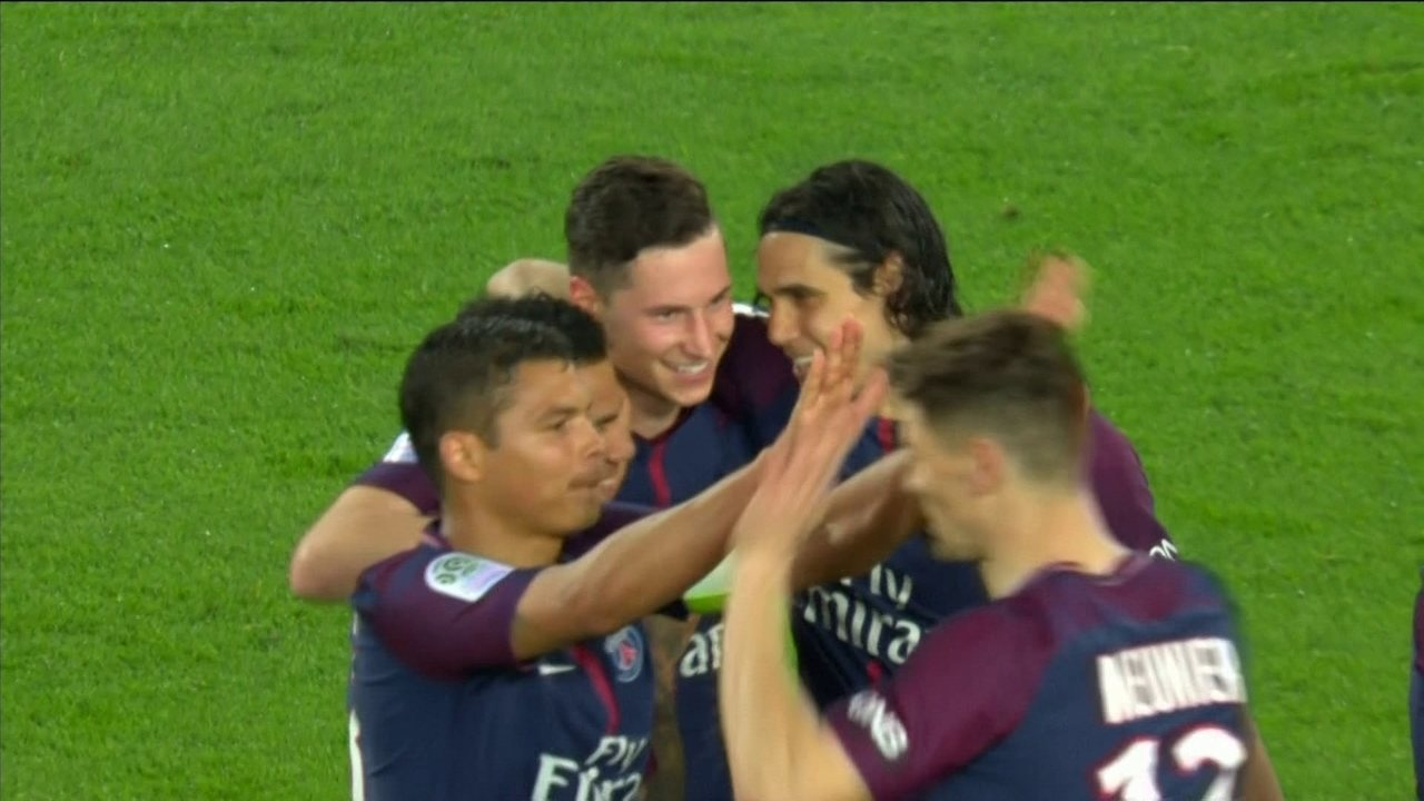 Os gols de PSG 7 x 1 Monaco pela 33ª rodada do Campeonato Francês