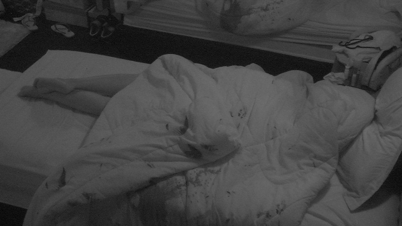 Gleici é a única participante dormindo na casa do BBB18