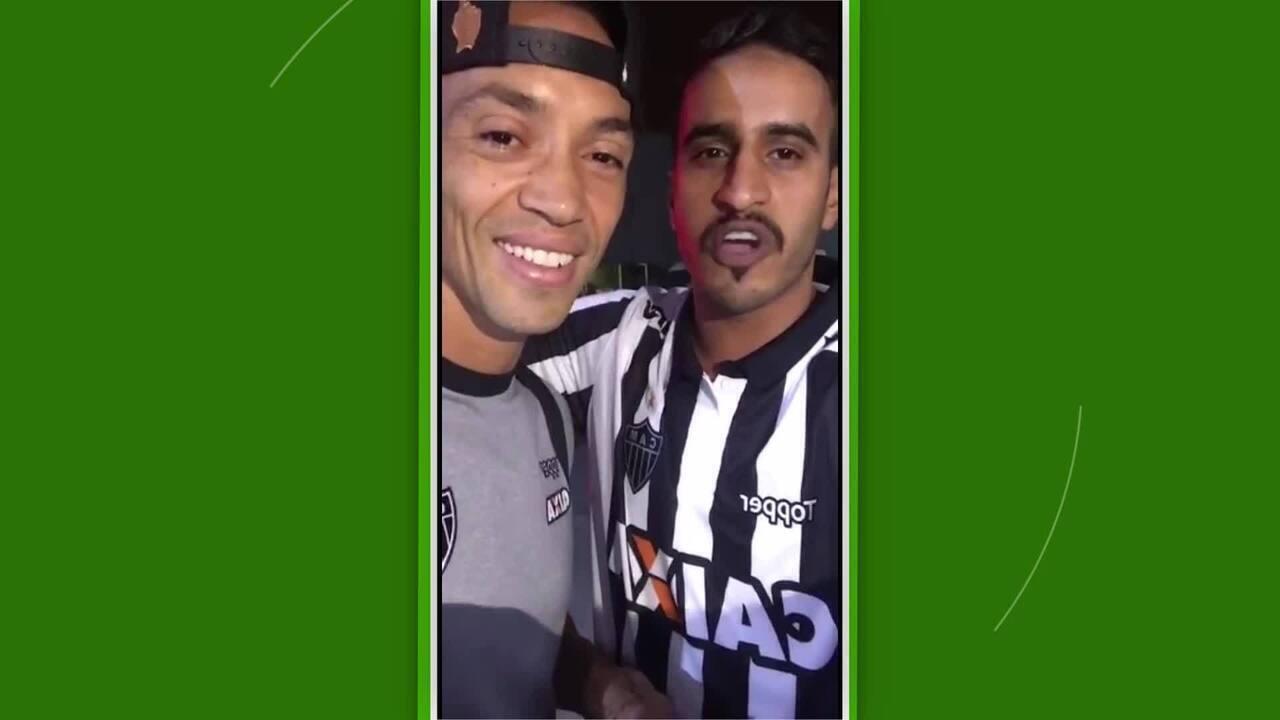 Atleticano Jasem Mohamed manda recado com Ricardo Oliveira