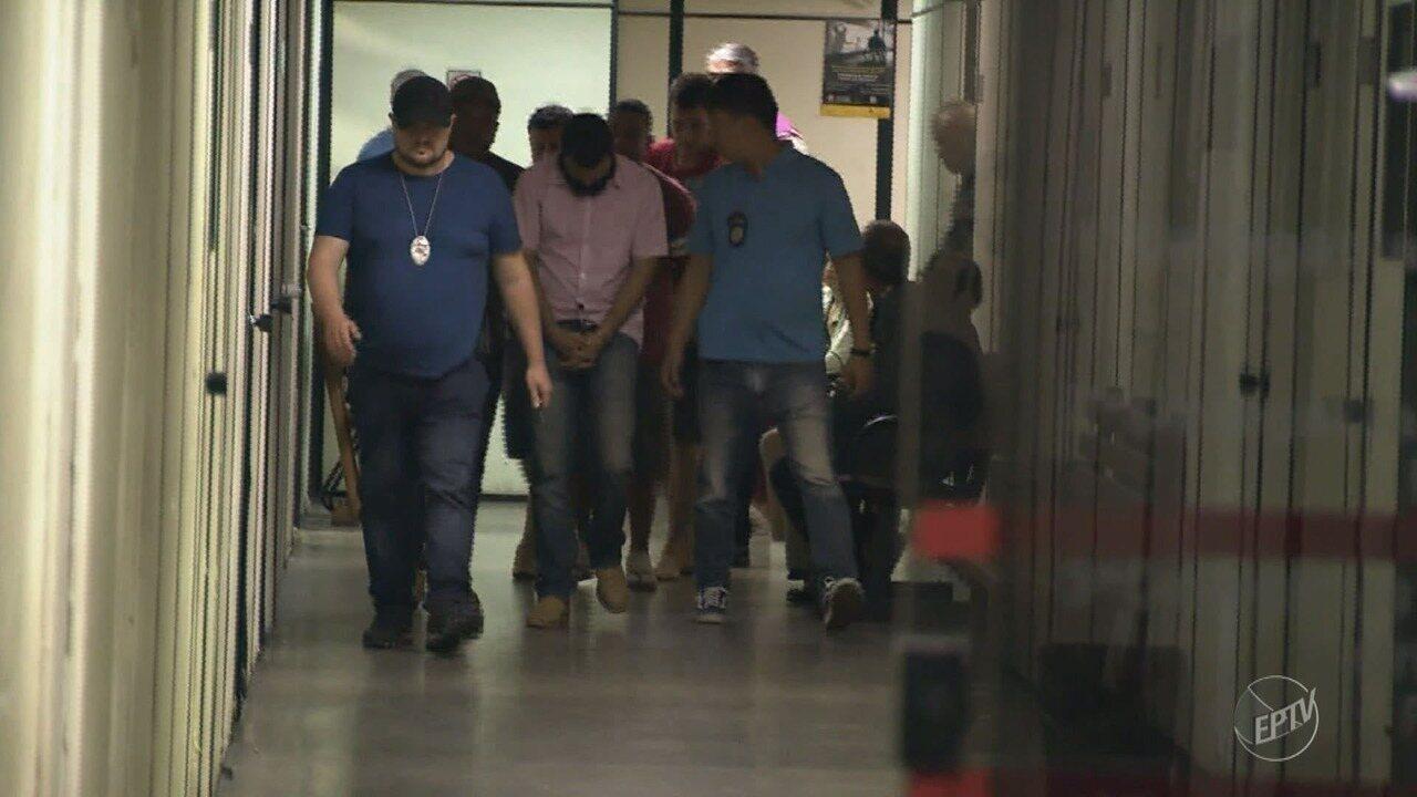 Seis suspeitos de explodir caixas eletrônicos e atacar carros fortes são presos em Sumaré