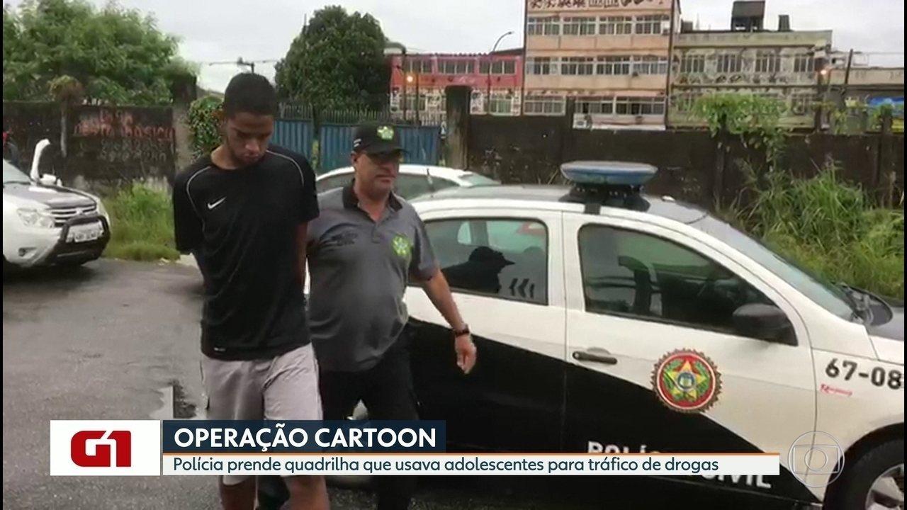 Polícia realiza operação para combater tráfico de drogas na Baixada Fluminense