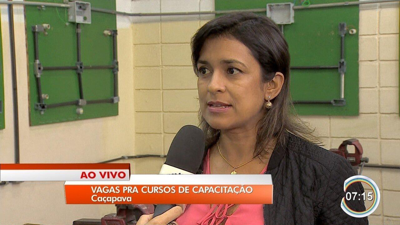 Senai oferece vagas para capacitação em Caçapava