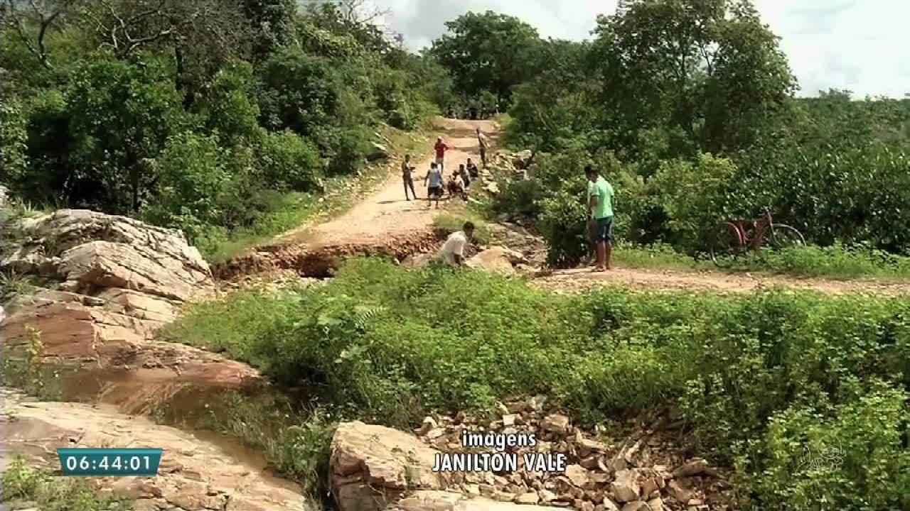 Moradores do município de Granja estão isolados