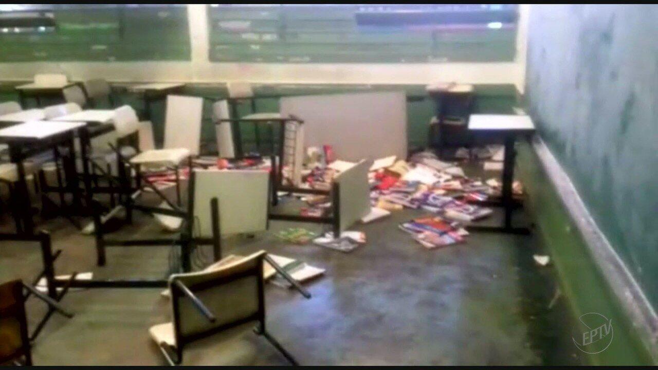 Resultado de imagem para escolas violencia quebradas por alunos