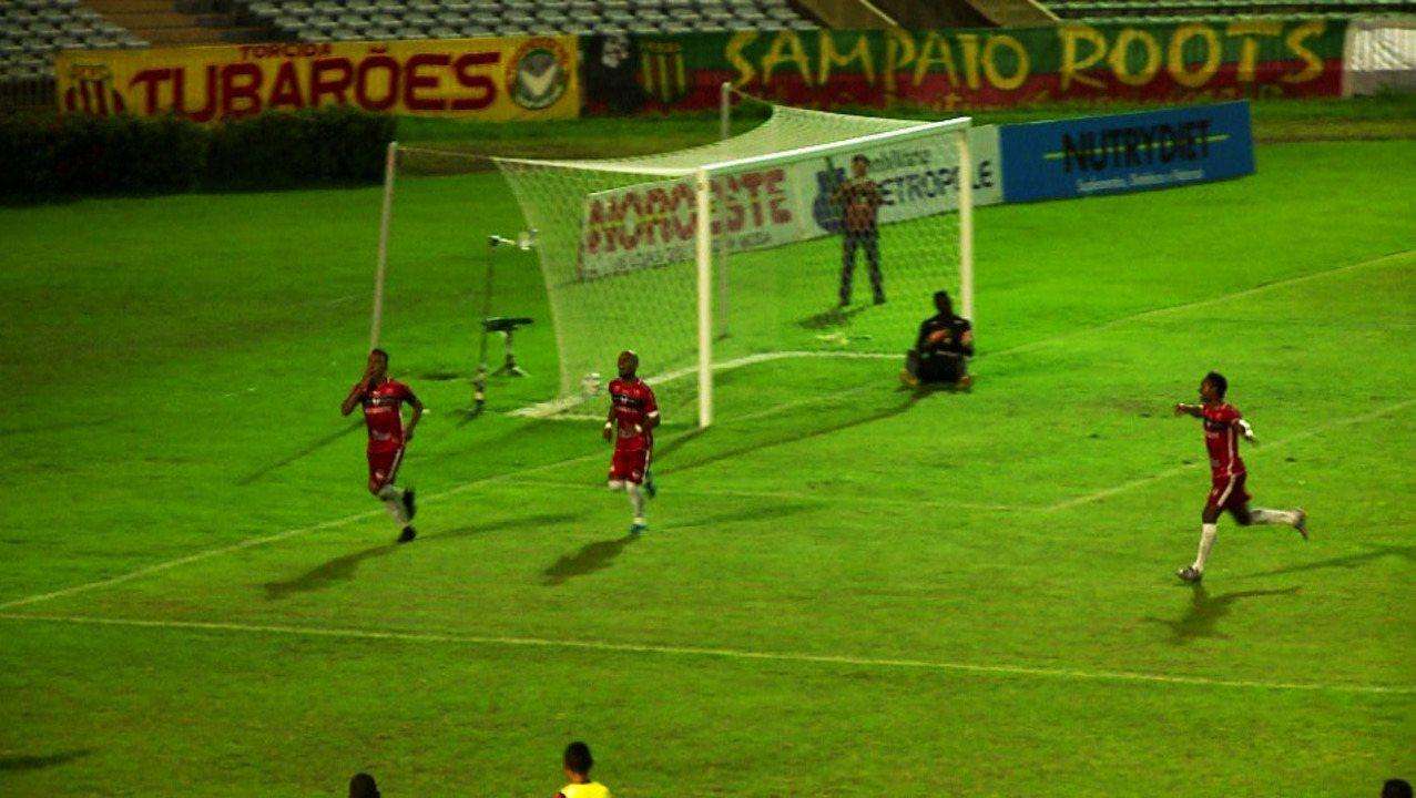 Os gols de River-PI 2 x 2 Sampaio Corrêa pelo pré-Nordestão