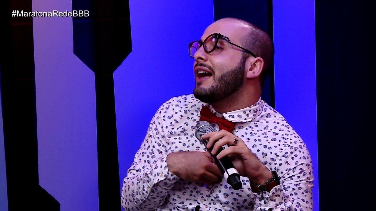 Maratona Rede BBB! Mahmoud sobre treta com Jaqueline: 'Foi a briga que mais me magoou'