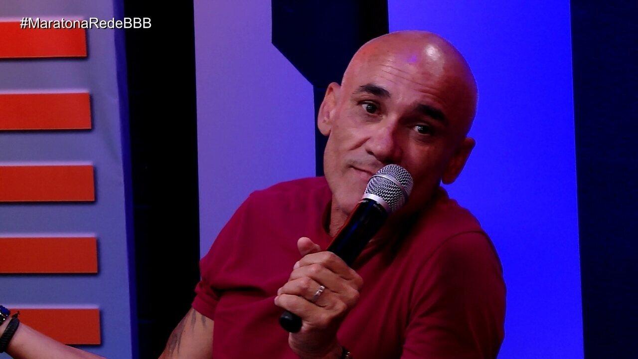 Maratona Rede BBB! Ayrton sobre beijo de Ana Clara e Breno: 'A consequência é para vocês dois'