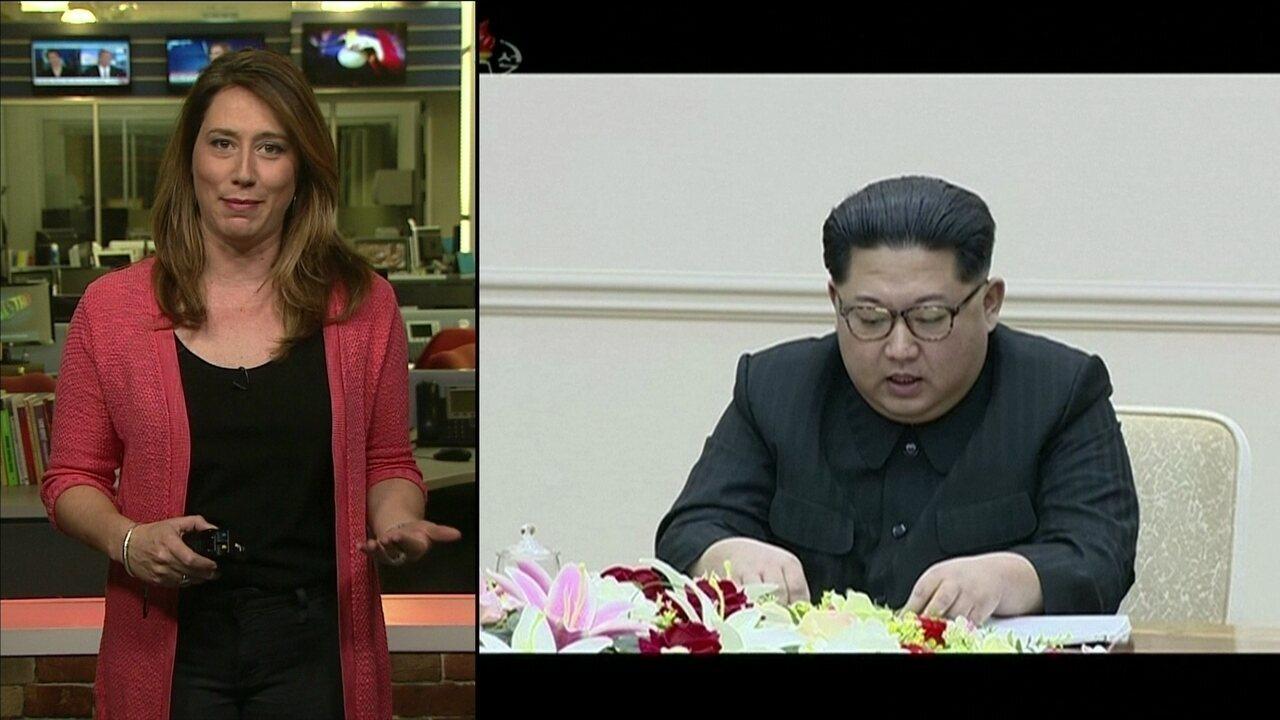 Coreia do Norte anuncia suspensão de testes nucleares e lançamento de mísseis