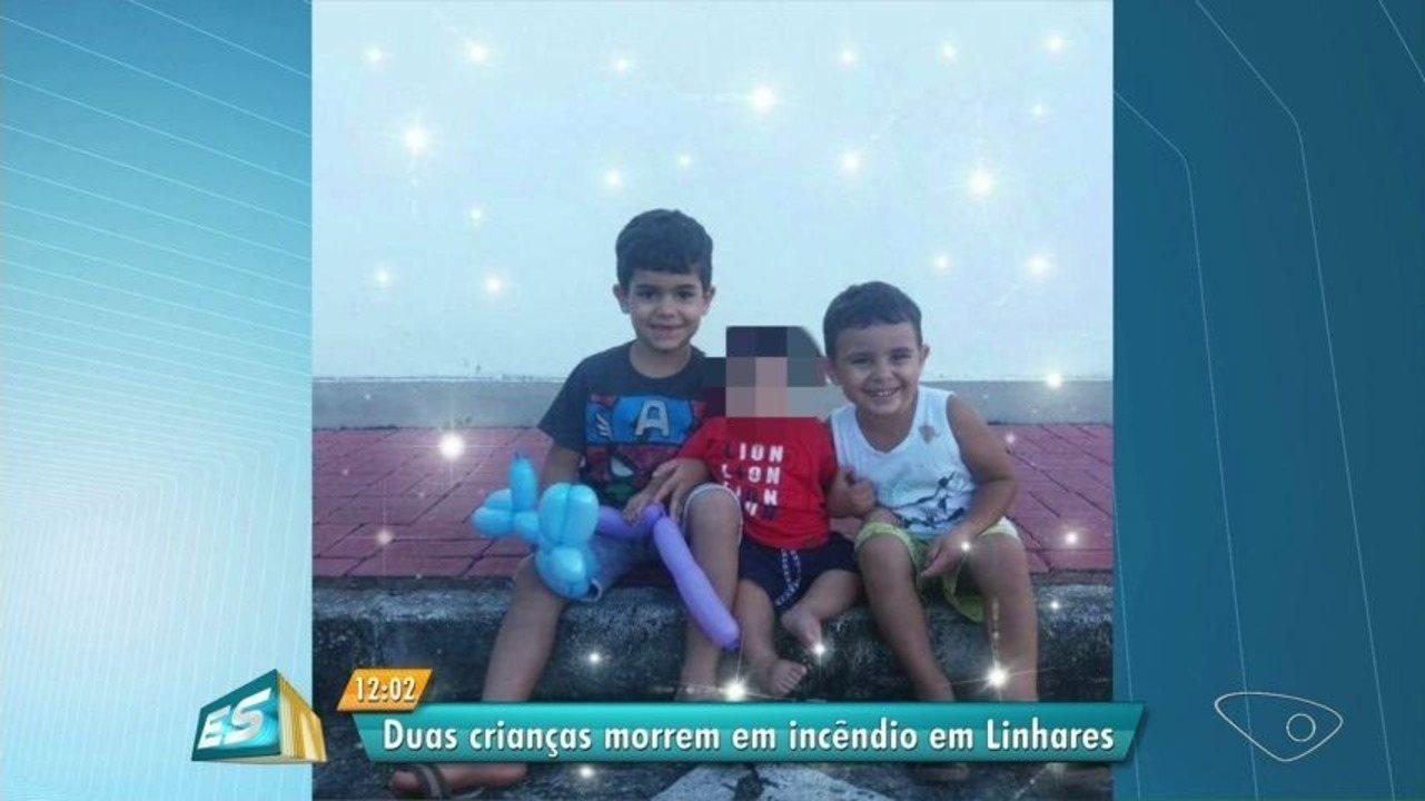 Irmãos morrem carbonizados após quarto pegar fogo em Linhares, ES