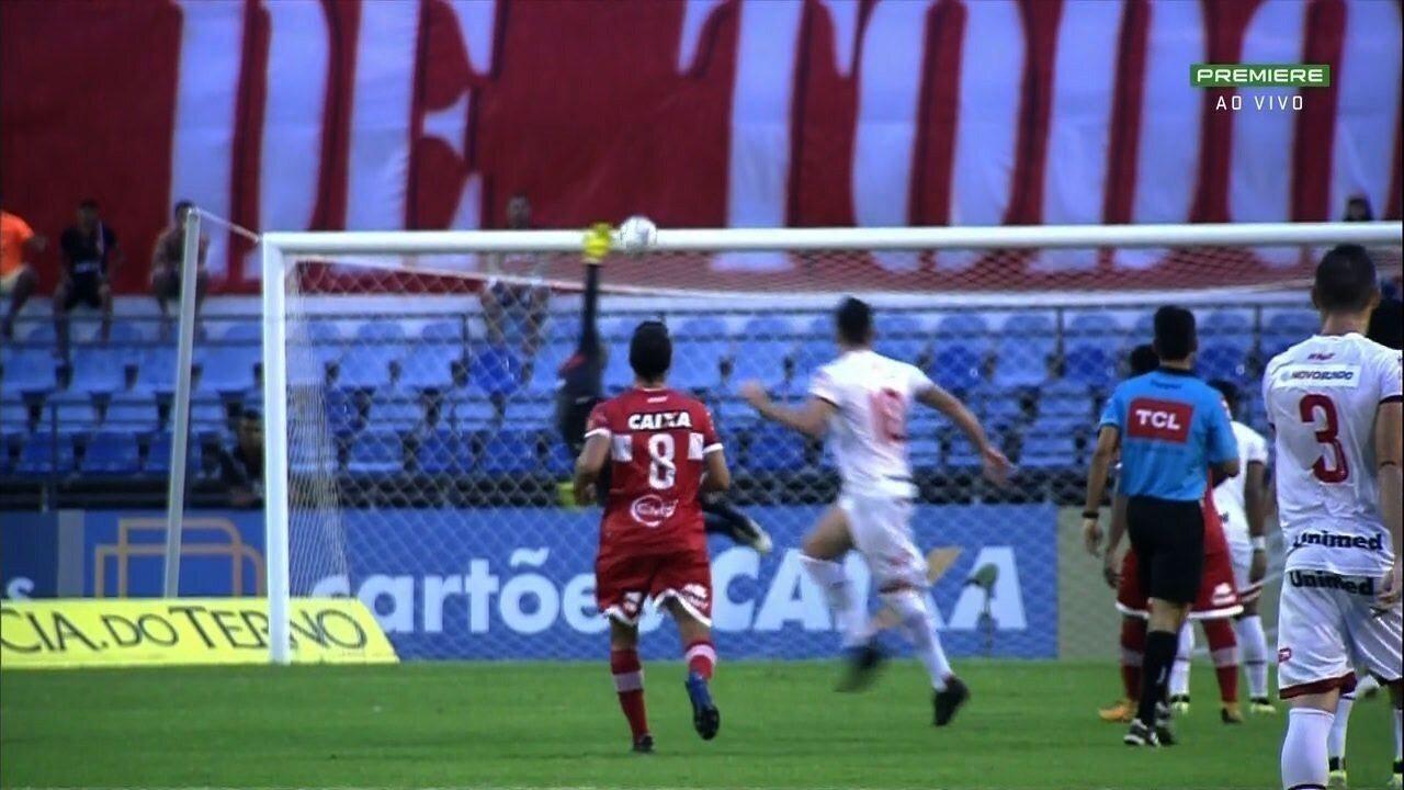Os melhores momentos de CRB 0 X 1 Vila Nova