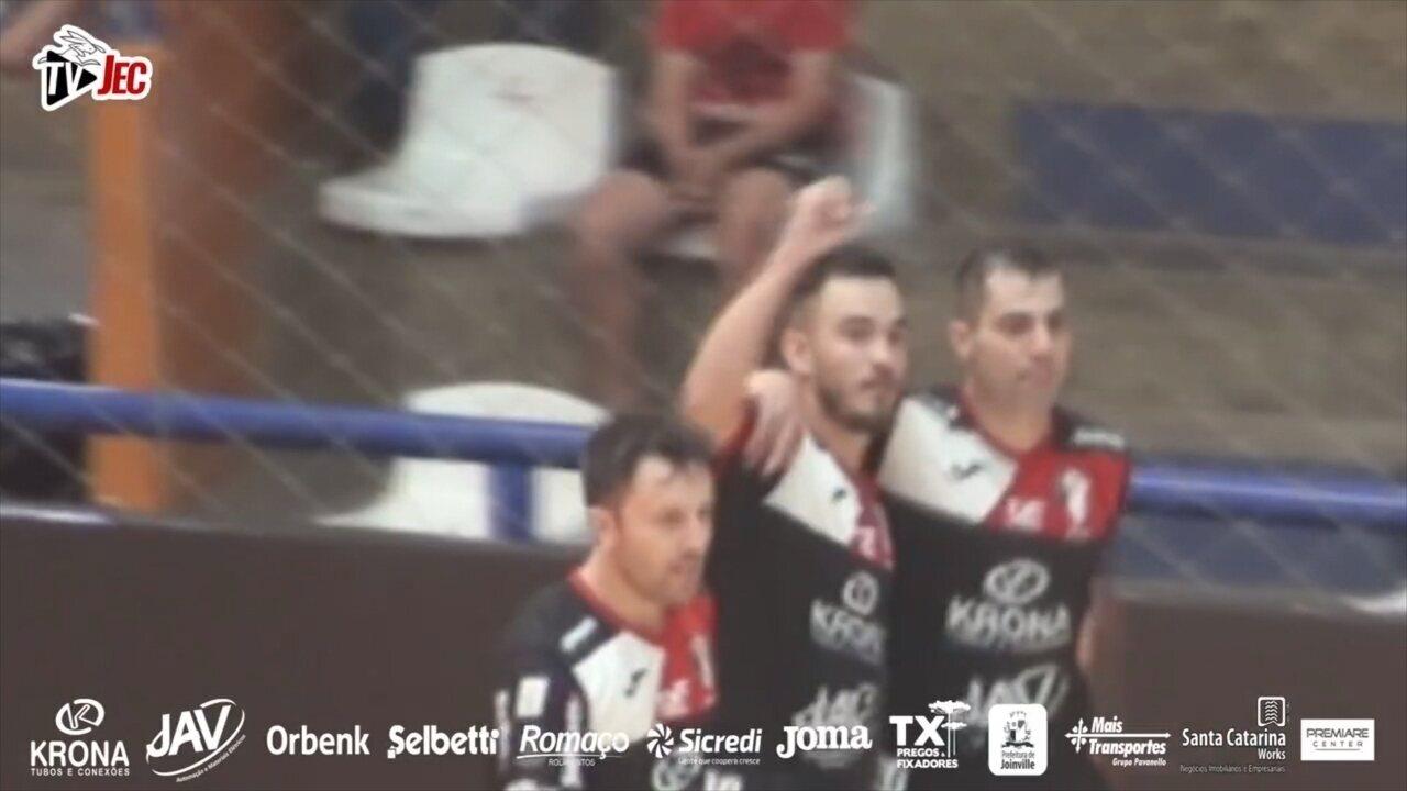 JEC estreia com vitória na Libertadores de Futsal diante do Caracas ... 3fce380d474c0