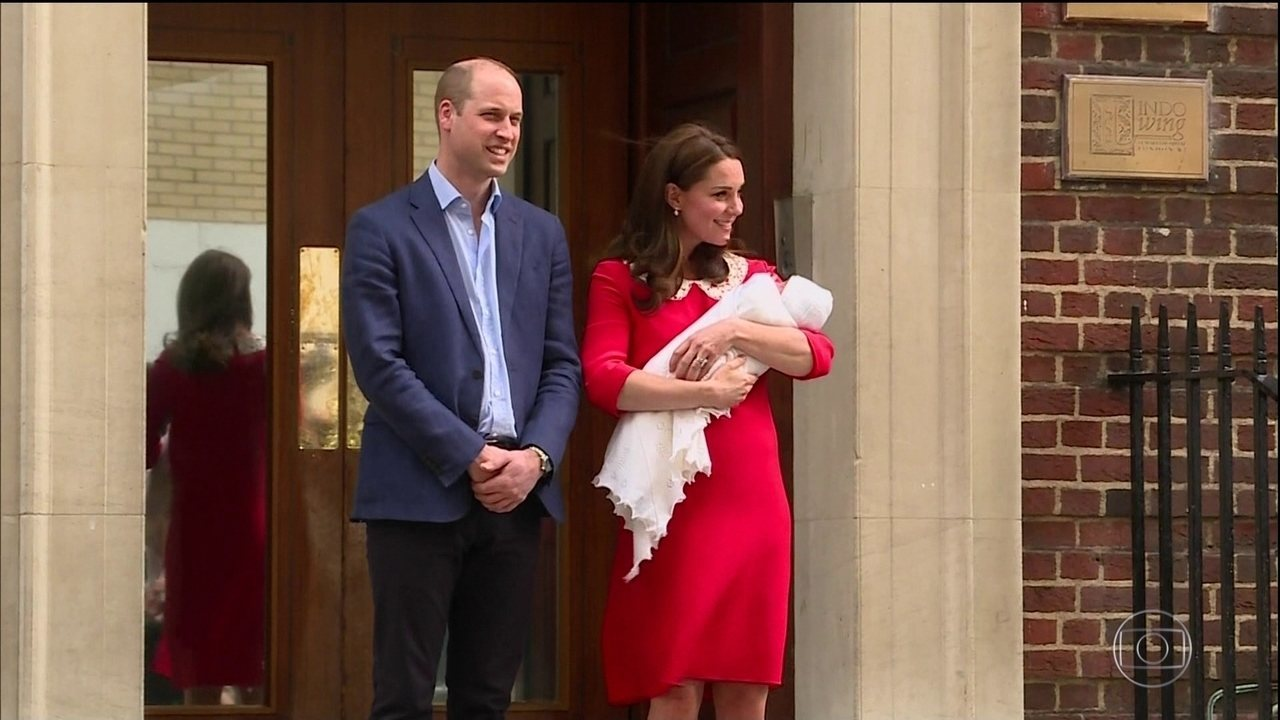 Imprensa mundial acompanha nascimento do mais novo herdeiro da família real britânica