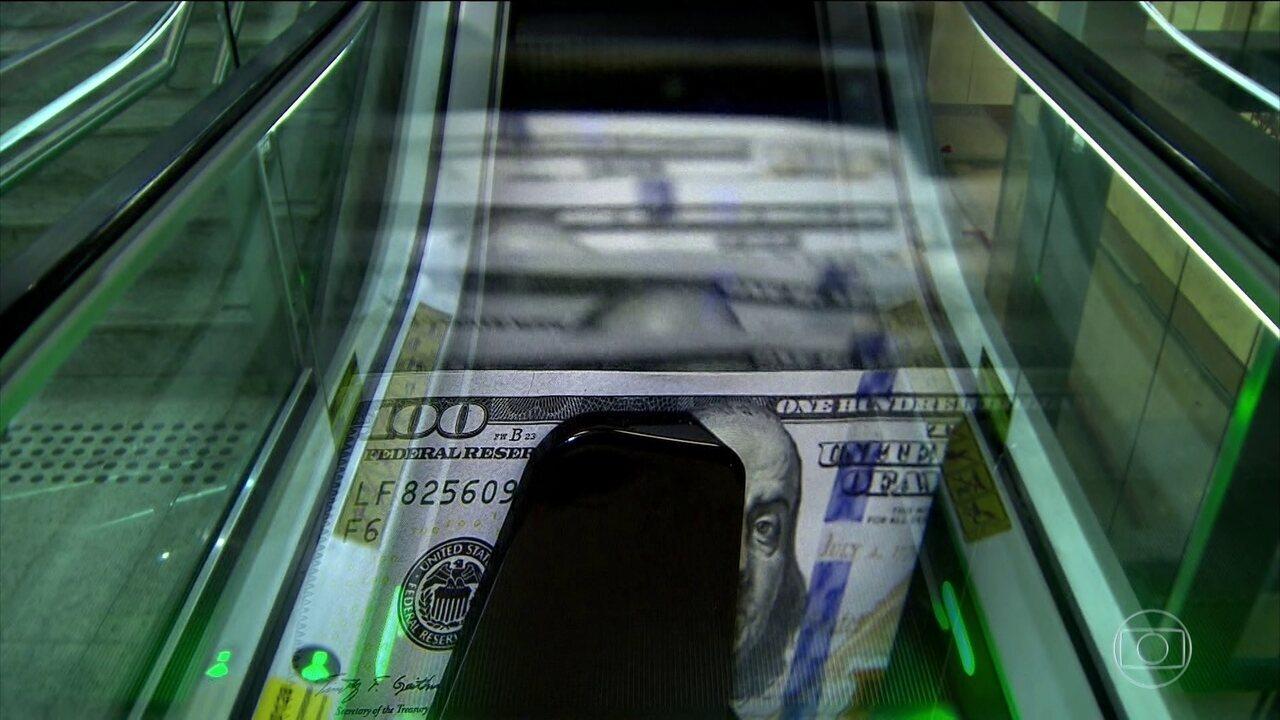 Dólar atinge o maior valor desde dezembro de 2016