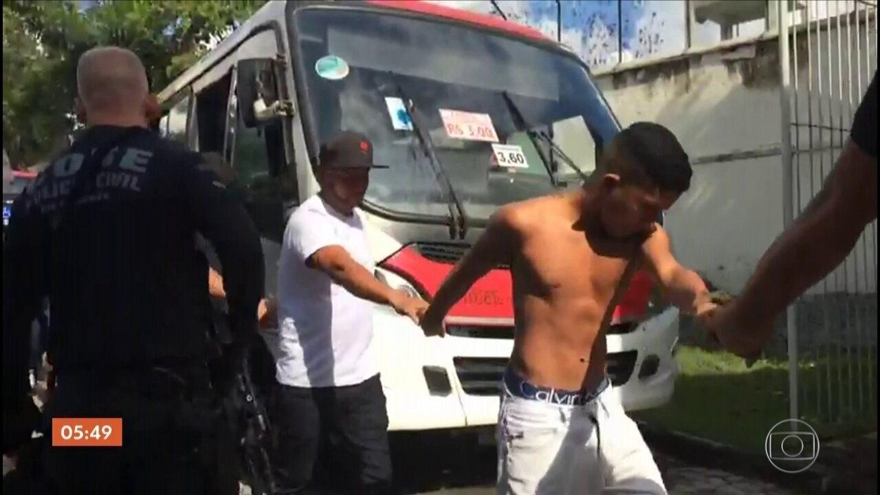 Doze pessoas são presas em operação contra milícia no Rio