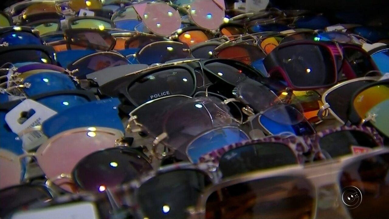 e4db8bf0237e6 Polícia apreende mais de 500 óculos falsificados em Rio Preto