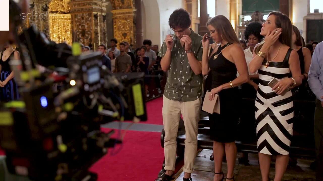 Veja os bastidores da missa em tributo aos 18 anos da falsa morte de Beto Falcão