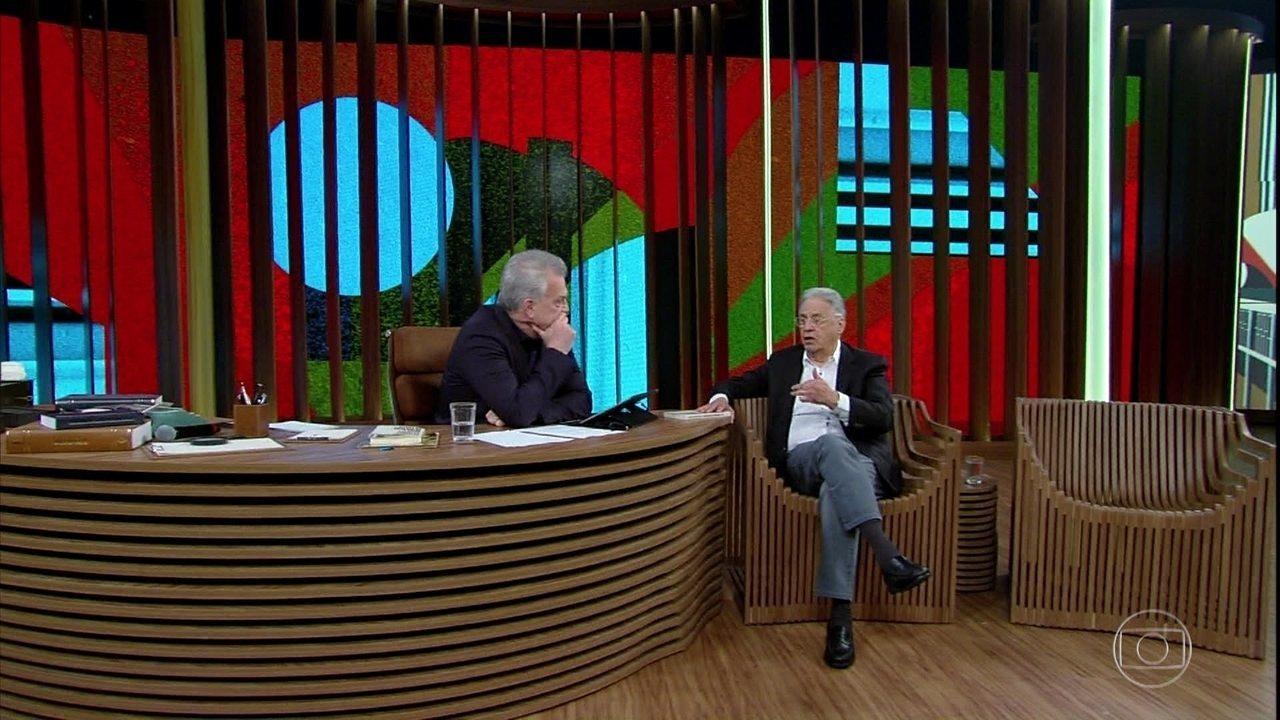 FHC fala sobre a prisão de Lula