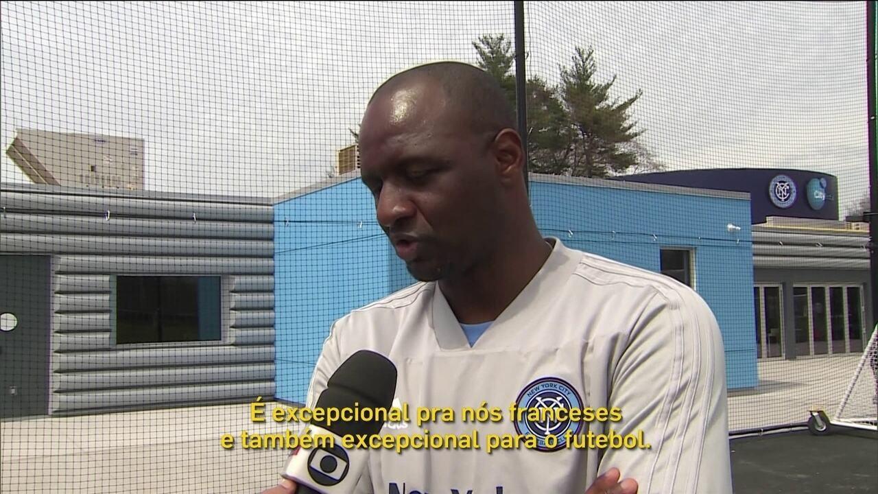 98afa252516a4 Papo de Copa  Patrick Vieira revive sonho de vencer Brasil duas ...