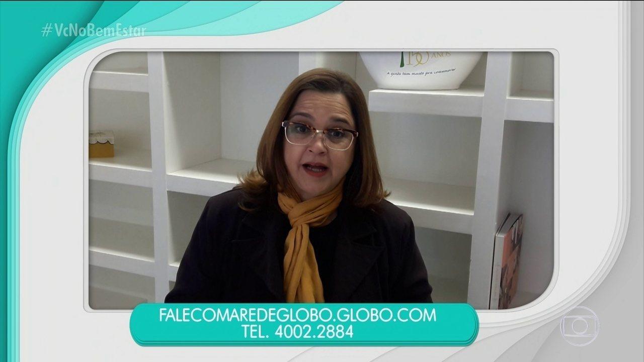 Telespectadora fala sobre intolerância ao alho