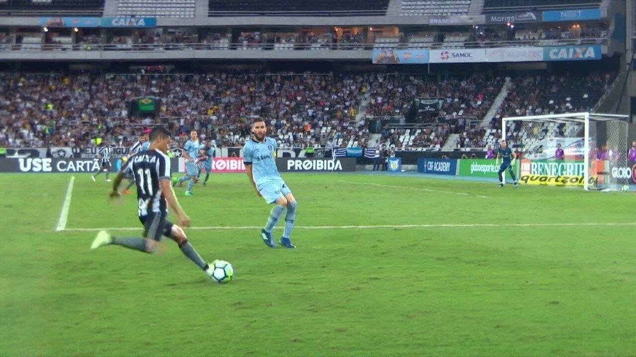 Melhores momentos de Botafogo 2 x 1 Grêmio pela 3ª rodada do Brasileirão 2018