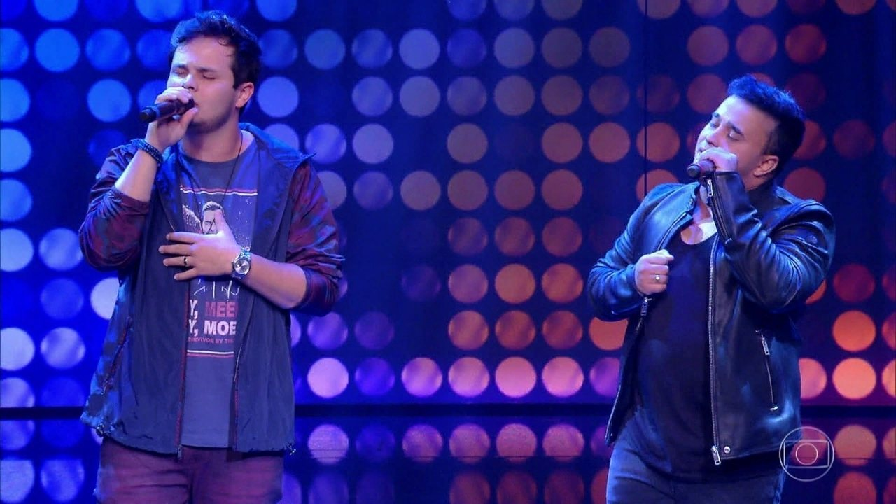 Matheus e Kauan também se apresentaram no programa