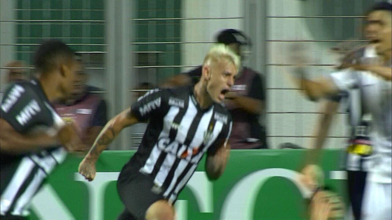 Veja o gol de Róger Guedes que deu a vitória ao Galo diante do Timão