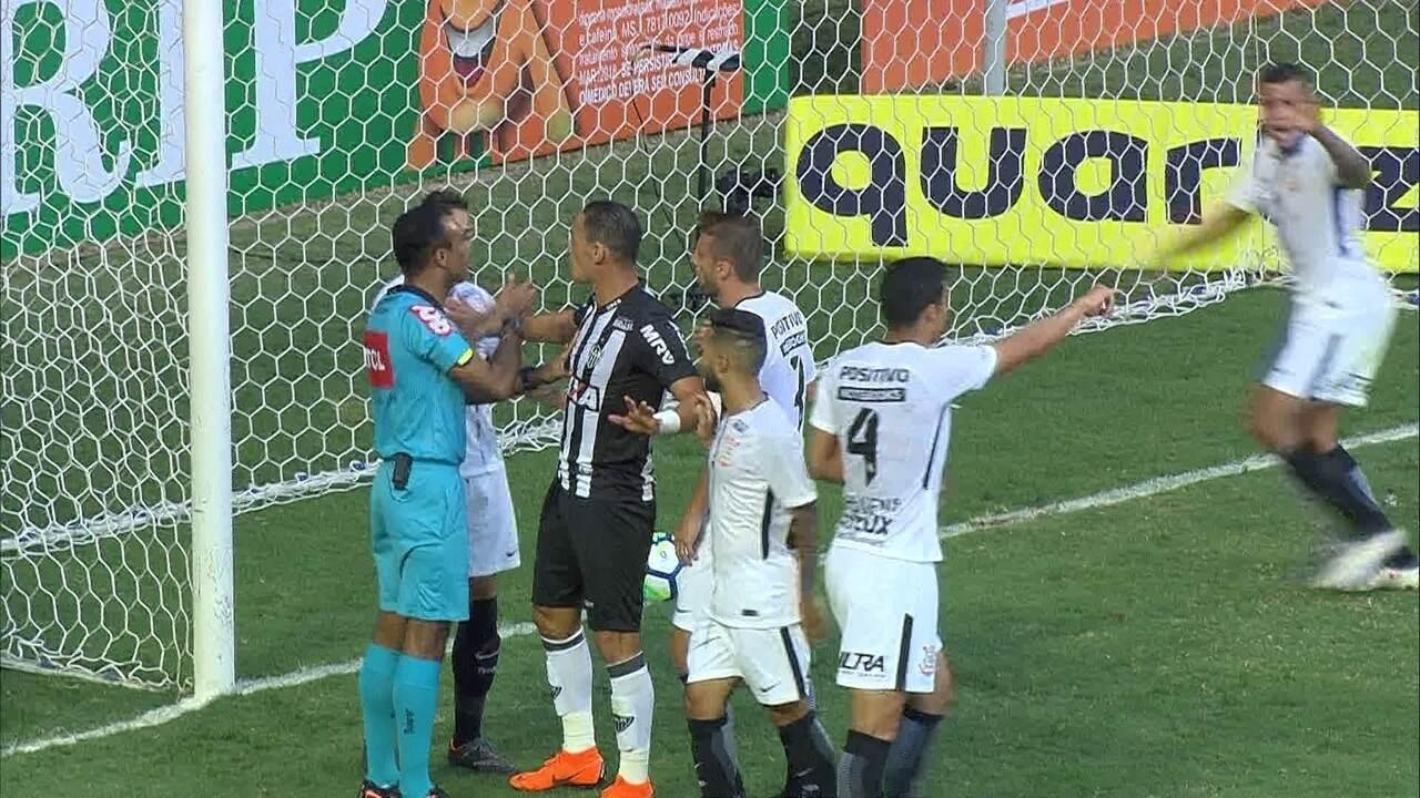 a2a7b59aa6 Melhores momentos  Atlético-MG 1 x 0 Corinthians pela 3ª rodada do  Brasileirão