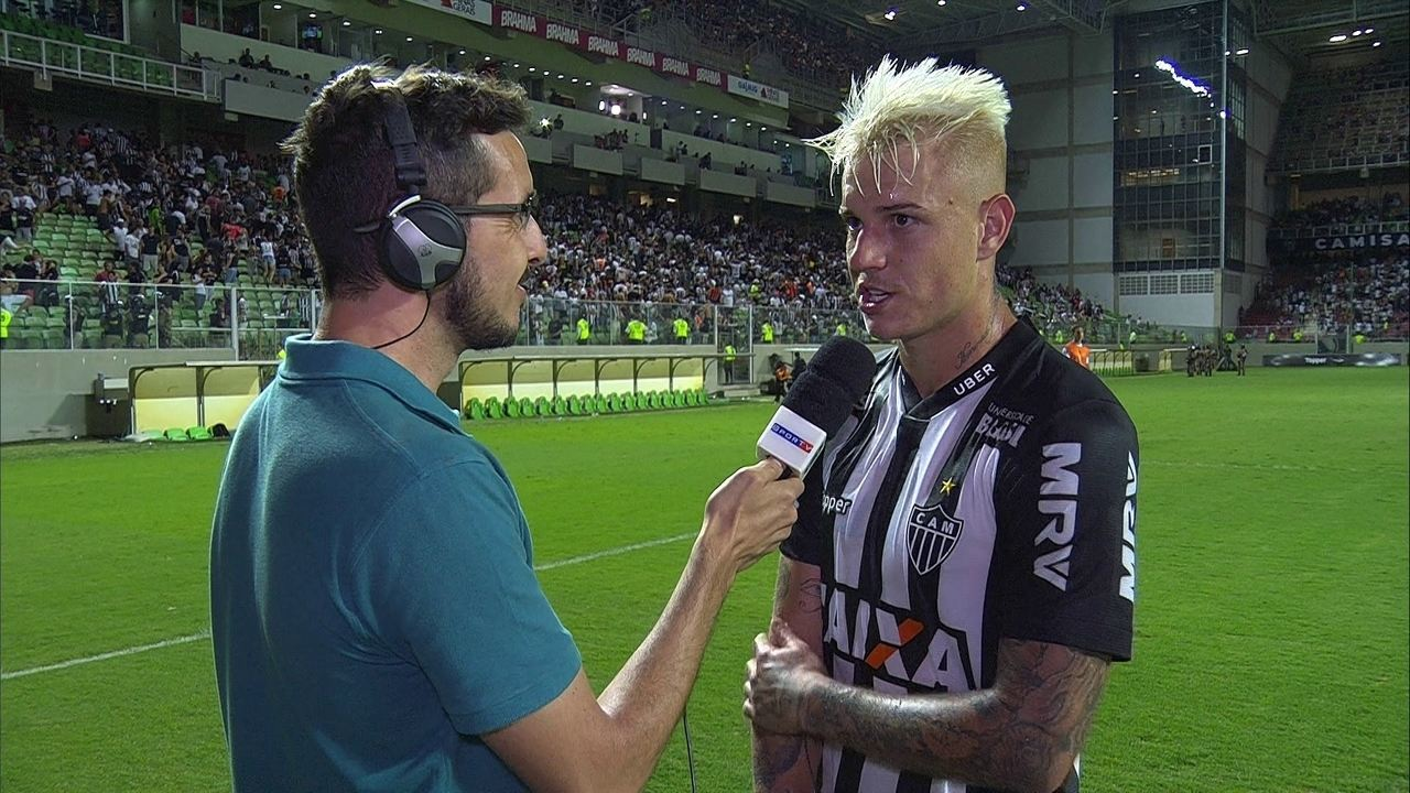 Veja a entrevista de Róger Guedes após a vitória sobre o Corinthians