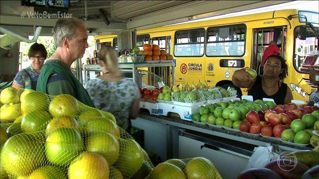 Frutaria em terminal de ônibus melhora alimentação da população em Jundiaí