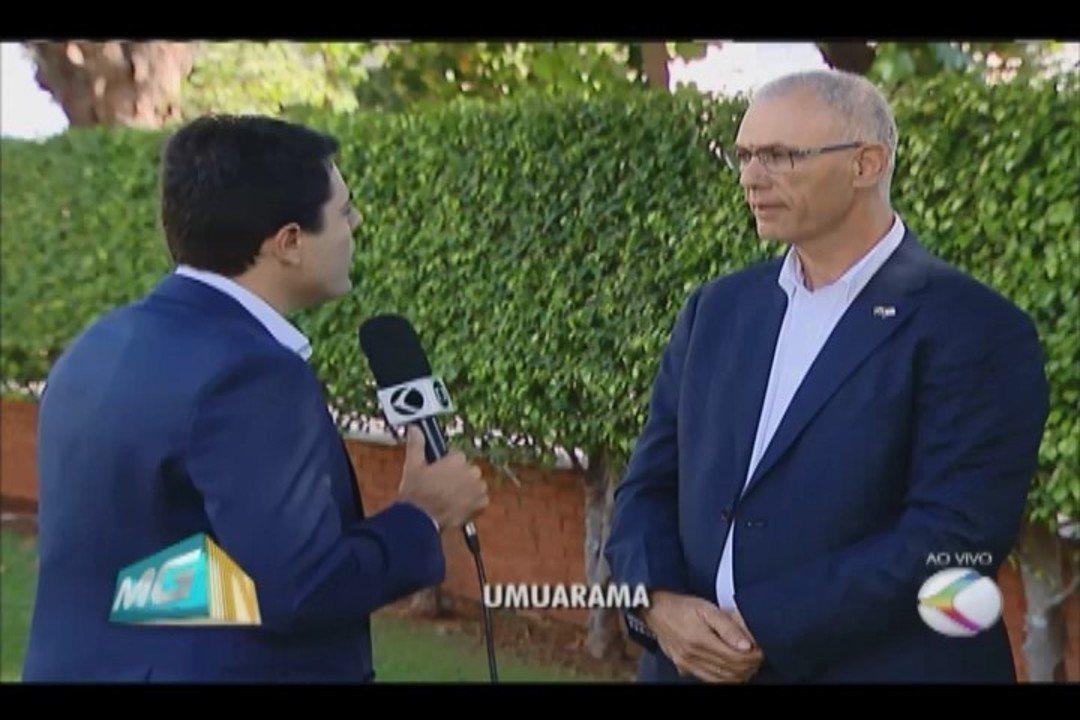 Embaixador de Israel no Brasil também participa de reunião em Uberlândia