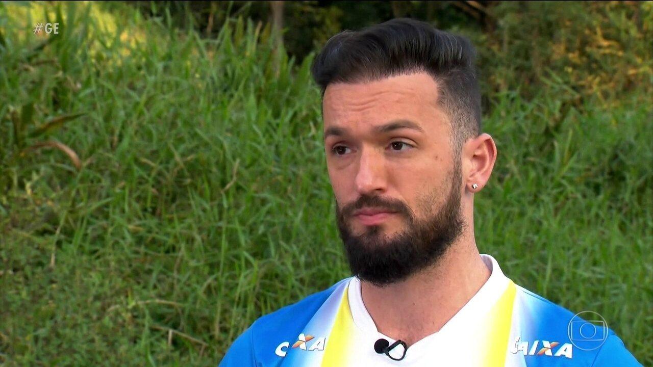 Com exclusividade, Diego Hypólito fala sobre abusos que sofreu no início da carreira