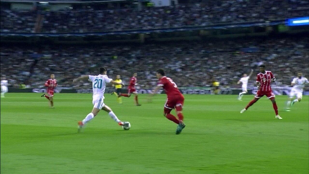 Melhores momentos  Real Madrid 2 x 2 Bayern de Munique nas semifinais da  Liga dos d46fd6aaf6b02