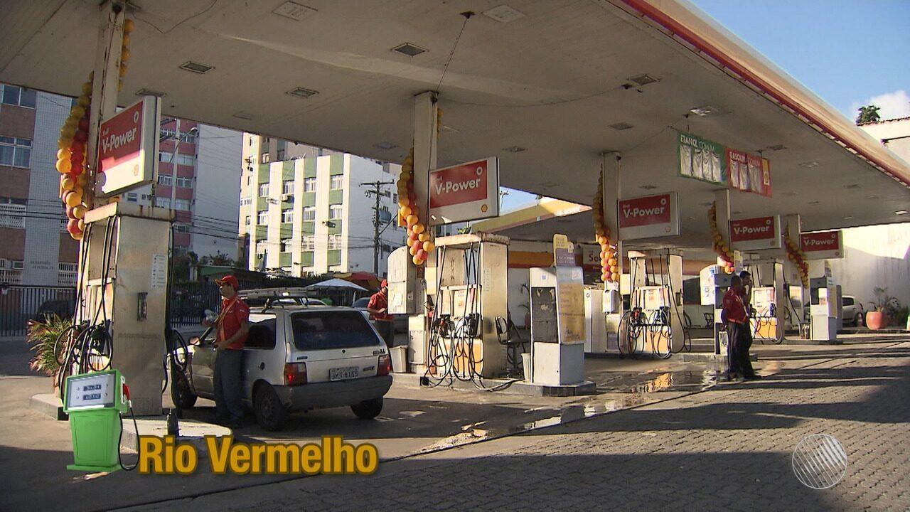 De surpresa: litro da gasolina aumenta cerca de 60 centavos em Salvador