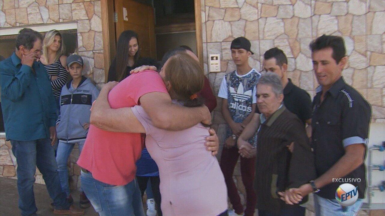 Homem que foi trocado na maternidade conhece a família após 38 anos, em Juruaia (MG)
