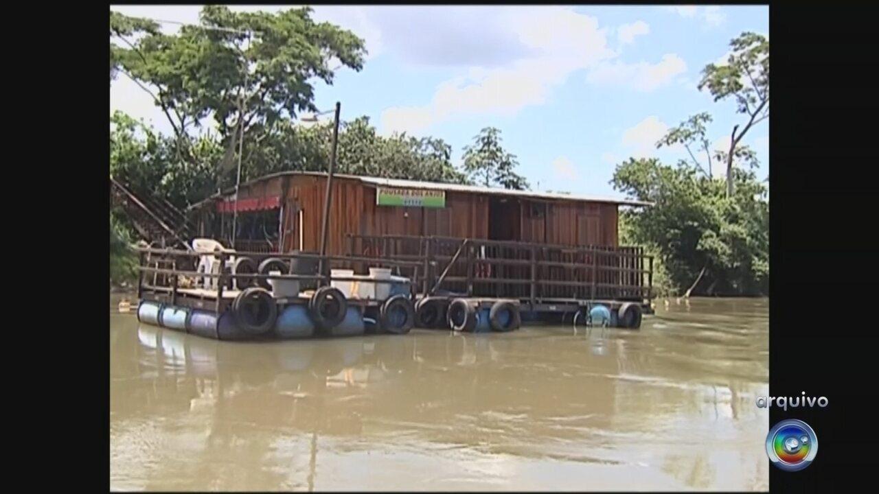 Casas flutuantes e batelões serão fiscalizados no noroeste paulista