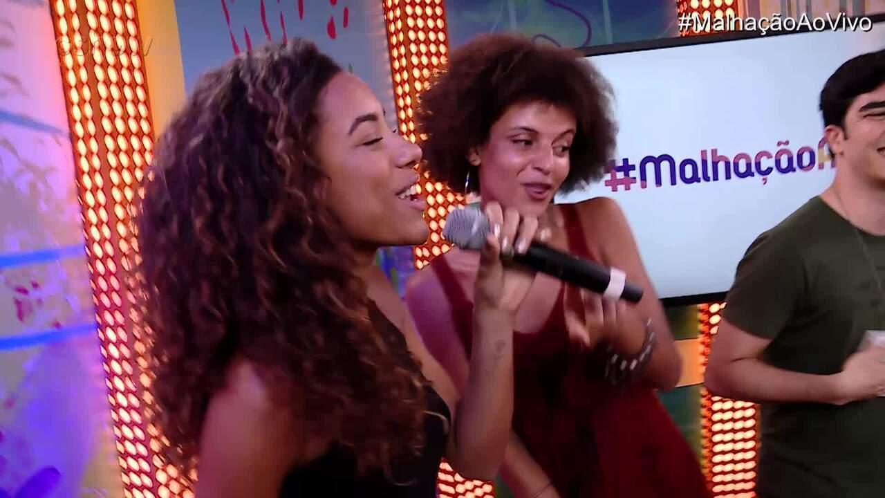 #MalhaçãoAoVivo termina com funk!