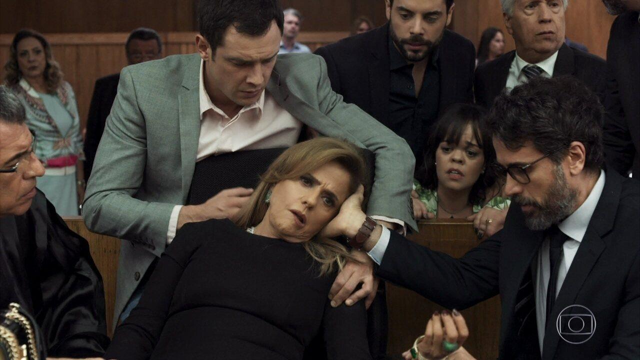 Sophia fica em estado de choque ao ver Xodó como testemunha