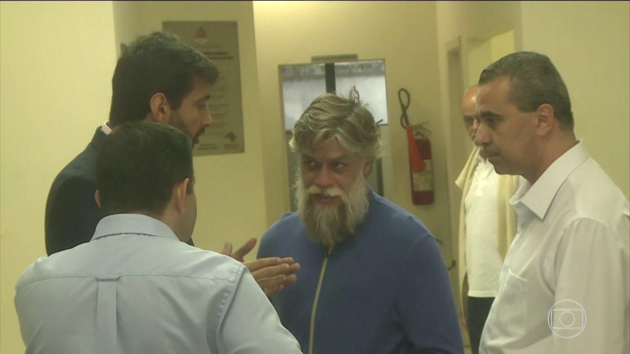 Ator Fábio Assunção é preso por embriaguez ao volante