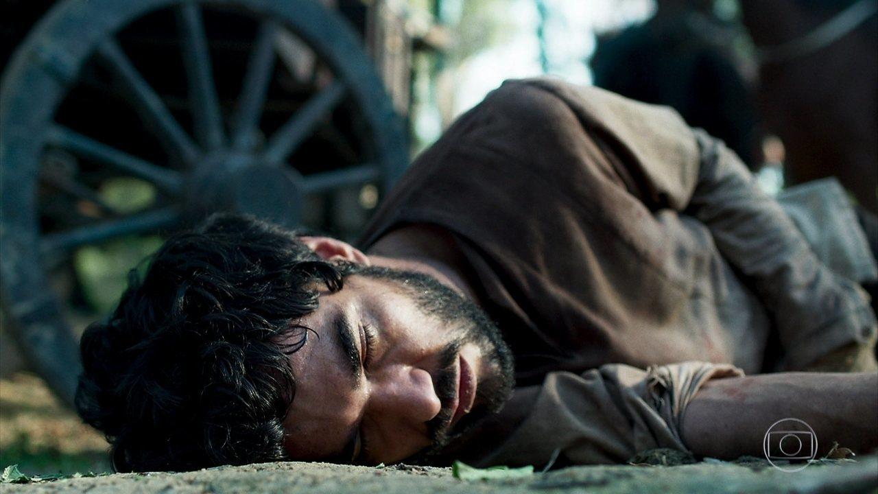 Cássio morre durante a fuga