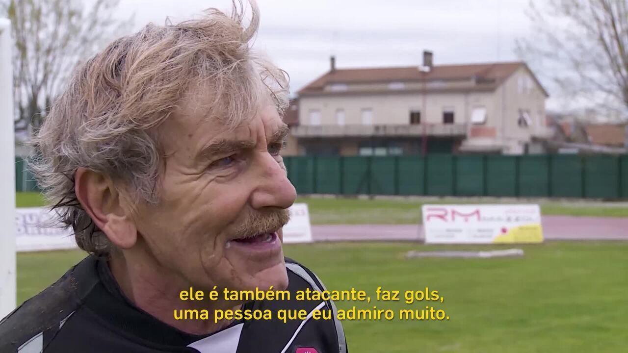 Conheça Lamberto Boranga, goleiro profissional aos 75 anos
