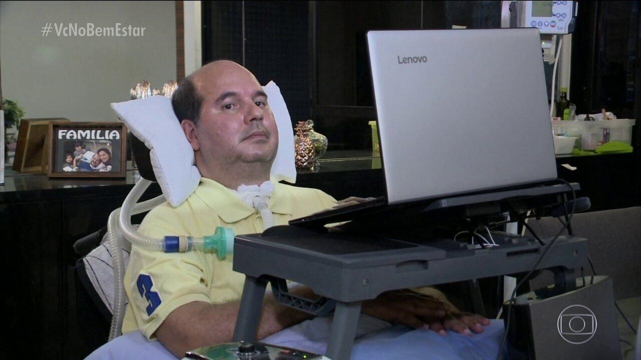 Cirurgião vascular com ELA luta por mais pesquisas sobre a doença no Brasil