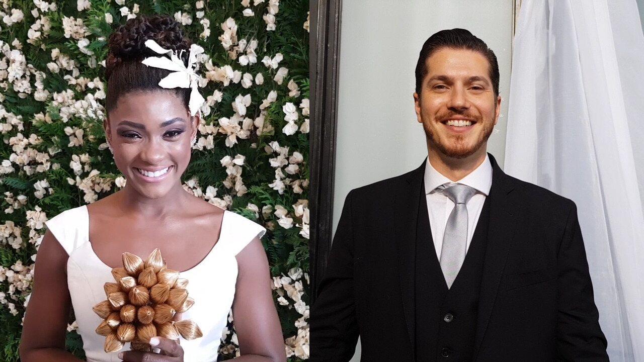 Confira os bastidores do casamento de Raquel e Bruno em 'O Outro Lado do Paraíso'