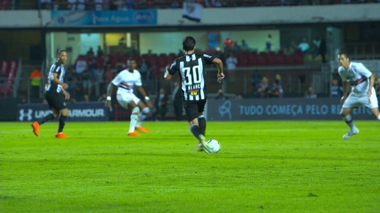 Os gols de São Paulo 2 x 2 Atlético-MG pela 4ª rodada do Campeonato Brasileiro