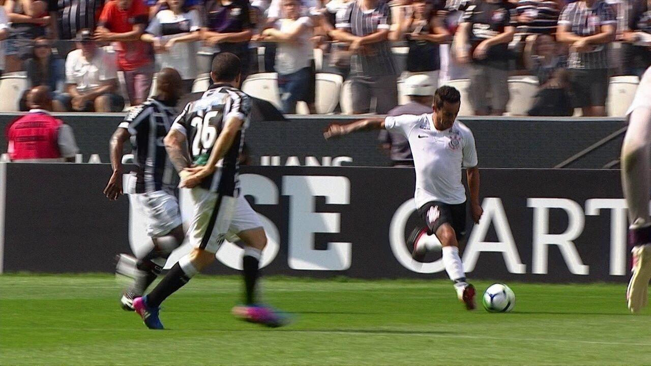 Melhores momentos de Corinthians 1 x 1 Ceará pela 4ª rodada do Campeonato Brasileiro