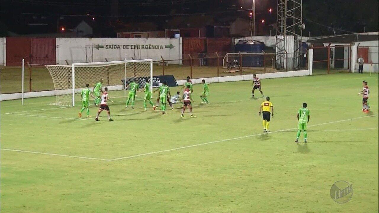 Caldense perde de 2 a 0 para o Linense e sofre primeiro revés na Série D