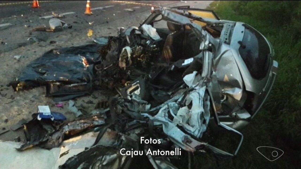 Motorista morre em acidente na BR-101 em Iconha, Sul do ES