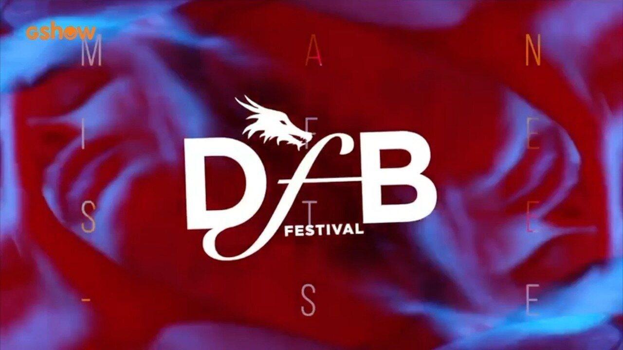 Festa de lançamento do Dragão Fashion Brasil 2018