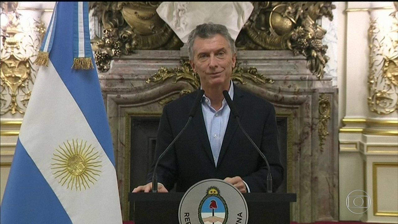 Crise faz Argentina voltar a pedir ajuda ao FMI depois de 15 anos