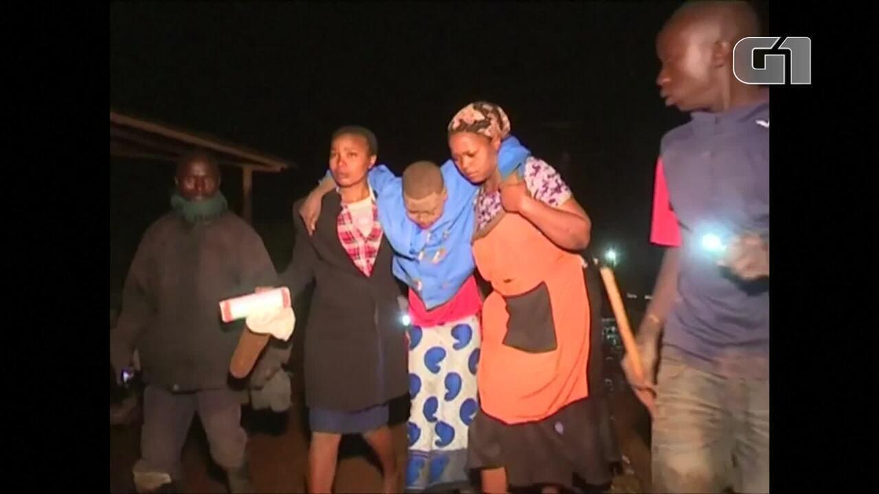 Ruptura de represa deixa mortos no Quênia