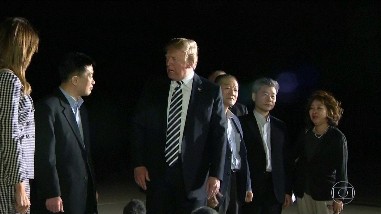 Trump anuncia que encontro com Kim Jong-Un será em Cingapura